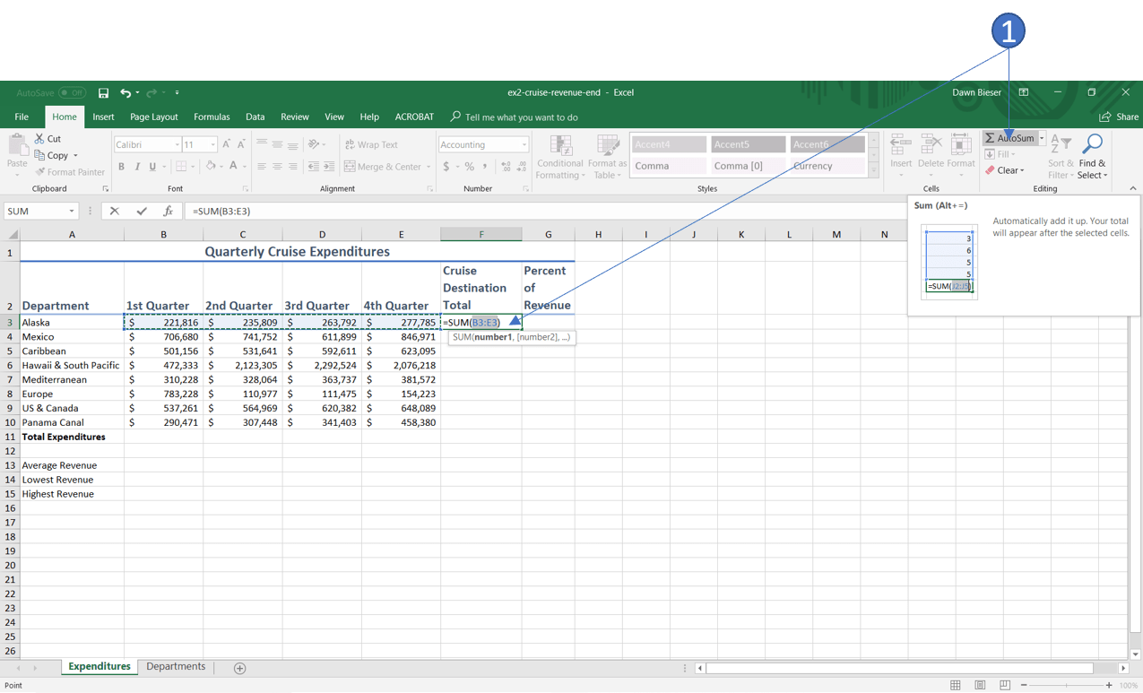 Sum Fuction In Excel Archives
