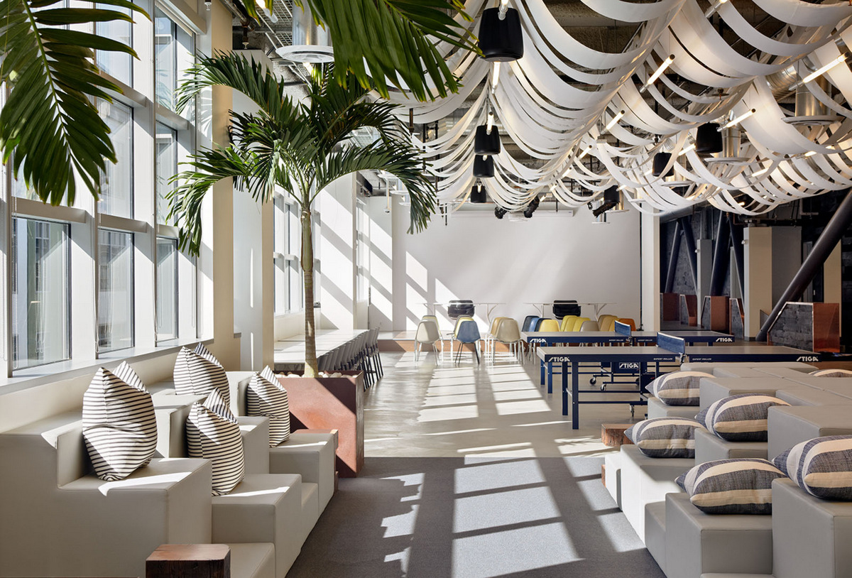 Inside Dropbox S Urbanized San Francisco Offices Office