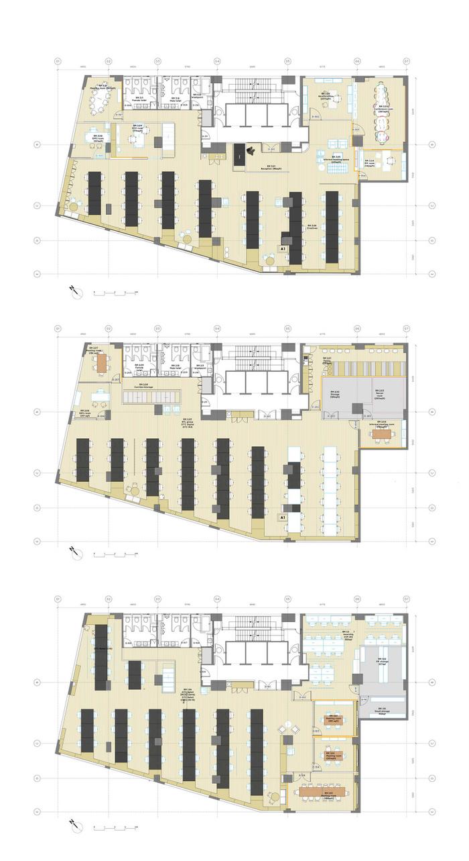 BB103-10-03-01 3F Plan Proposed GA REV K