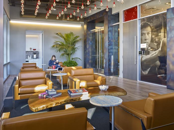 Netflix Headquarters Los Gatos Office Snapshots