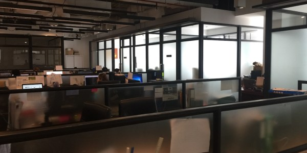 Partly Fitted Office In Sukhumvit