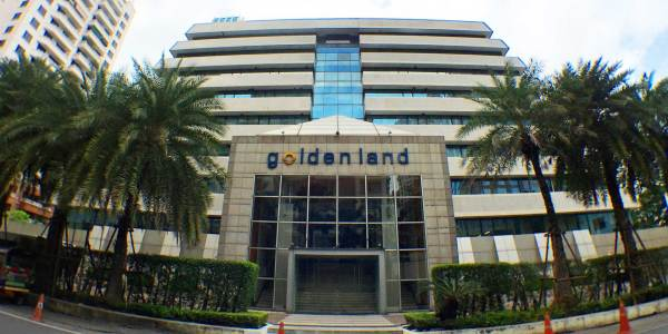 Goldenland Building on Ratchadamri Road