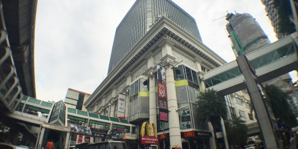 Office space for rent in Bangkok at Amarin Plaza