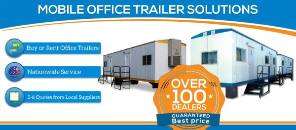 Mobile Office Trailer for Sale