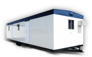Using Office Trailers As Mobile Libraries