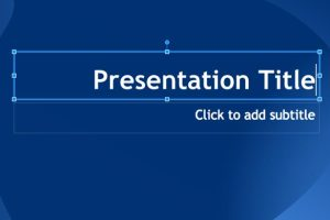 create powerpoint presentation