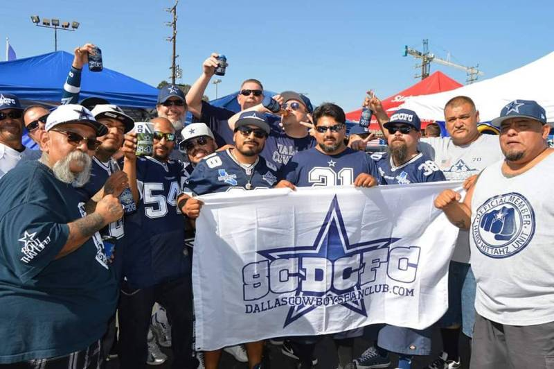 Fan Club, Dallas Cowboys fans, California, podcast, military