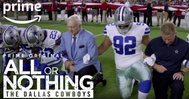 Dallas Cowboys, All or Nothing, Amazon, OAT, Barry Gipson