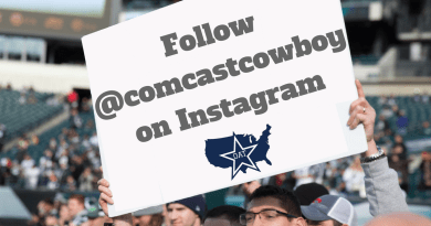Barry Gipson, Comcast Cowboy, OAT, Dallas Cowboys, Instagram