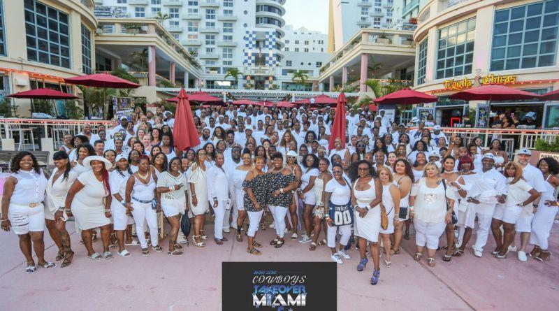 Miami, 2019, Fans Zone, Cynthia Bowen, OAT, Barry Gipson, Dallas Cowboys