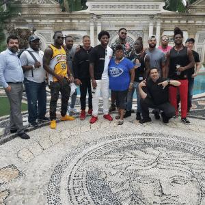 Miami, 2018, Versace, Cowboys, Fans Zone, Cynthia Bowen, takeover