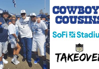 Cowbous Cousins Takeover SoFi Stadium AT&T Stadium Standard