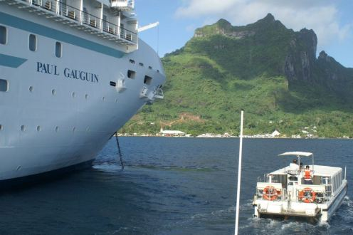 paul gauguin cruise ship tahiti