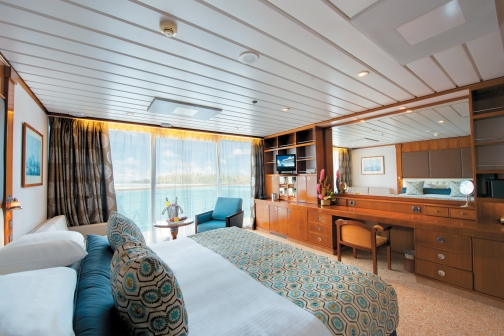 Paul Gauguin cruises cruise ship veranda cabin