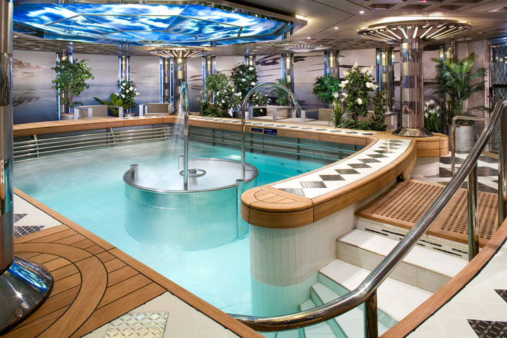 HAL Eurodam Greenhouse Spa soothes souls