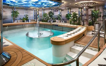 Holland America Line Eurodam Greenhouse Spa Hydro pool