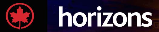 Air Canada Horizons