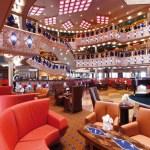 costa cruise line favolosa atrium