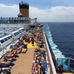 costa cruise line diadema top deck