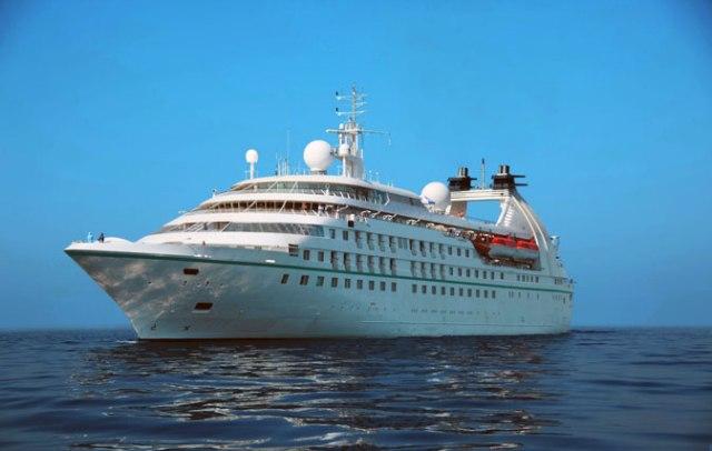 Windstar Star Cruises ship