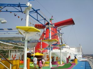 Carnival Cruises ropes course