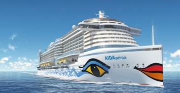 aida prima cruise ship exterior