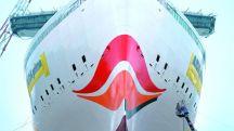 Aida cruises prima cruise ship bow