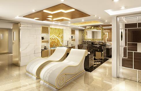 Regent Cruises Explorer cruise ship regent suite spa