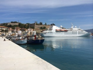 windstar cruises star pride docked amalfi coast