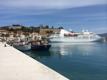 windstar cruises star pride docked amalfi coast
