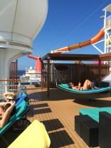 carnival cruise line breeze hammocks