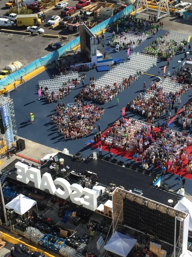 Norwegian cruises escape cruise ship inaugural concert pitbull