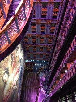 carnival cruises miracle dining room ceiling