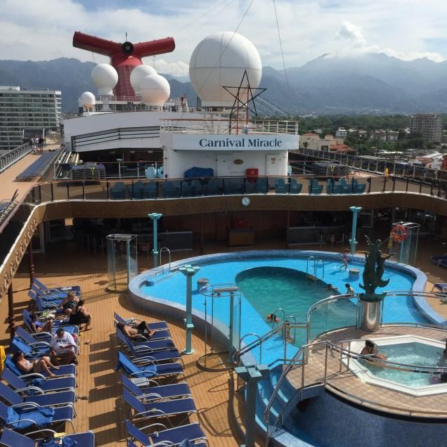 carnival cruises miracle pool hot tubs