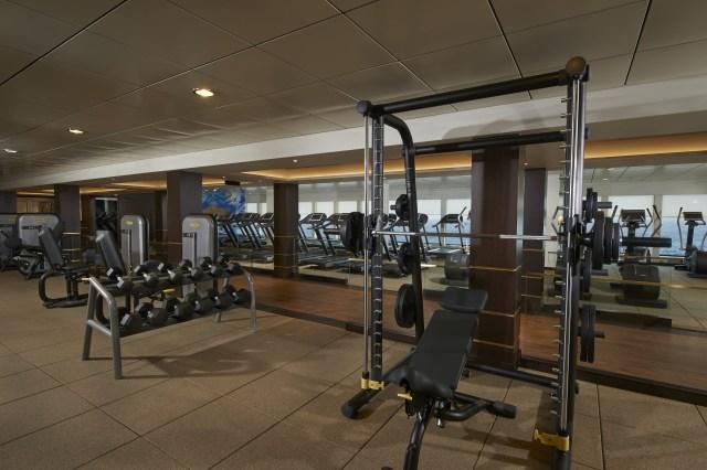 Norwegian cruises escape cruise ship gym