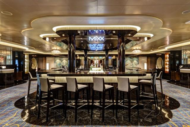 Norwegian cruises escape cruise ship mixx bar