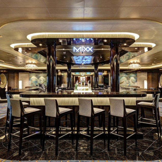 Norwegian cruises escape cruise ship mixx bar