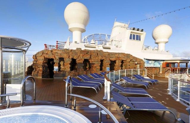 Norwegian cruises escape cruise ship grotto entrance