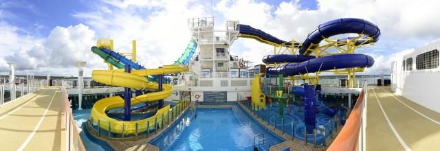 Norwegian cruises escape cruise ship main pool