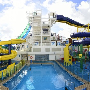Norwegian cruises escape cruise ship main pool