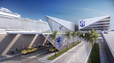 royal caribbean miami cruise terminal road