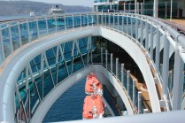 Princess Cruises Regal Princess walkway