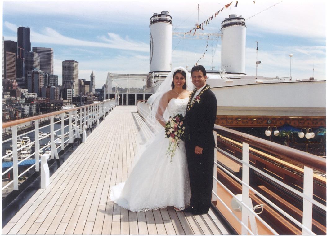 Cruise ship weddings gaining popularity
