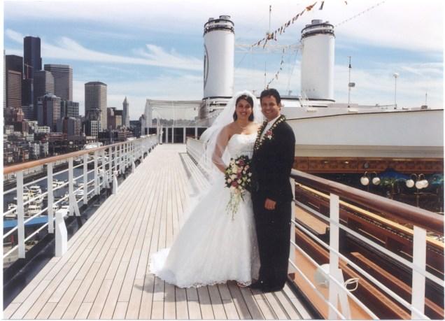 ROEShipboard Wedding
