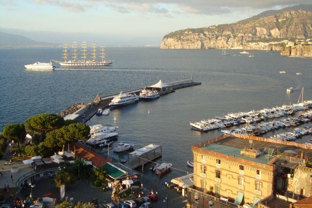 Royal Clipper in Sorrento Italy