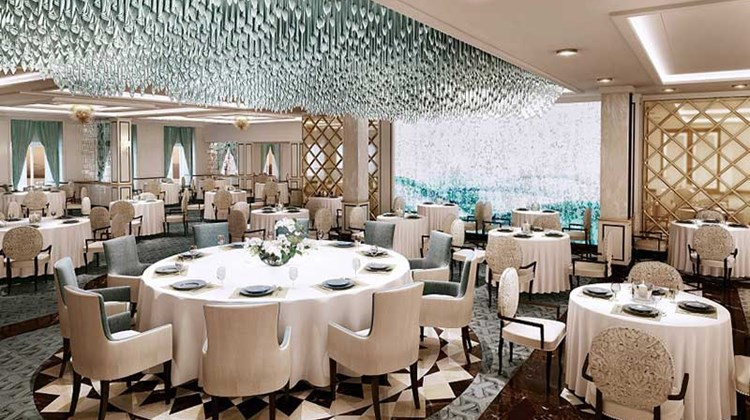Regent Cruises Explorer cruise ship dining room