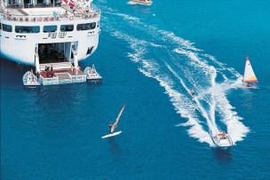 Small ship cruising windstar cruises wind surf windsurfer