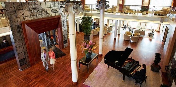 Residensea The World cruise ship piano