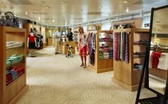 Residensea cruises The World cruise ship shops