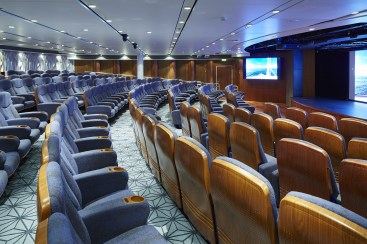 Residensea cruises The World cruise ship theater